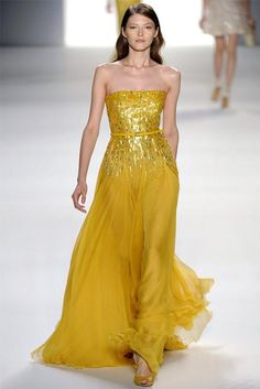 Image detail for -Elie Saab Ultra Feminine Evening Dress