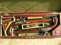 Dueling pistols