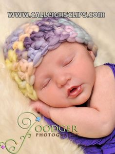 Crochet Pattern  Thick and Thin Baby Beanie or by calleighsclips, $4.50