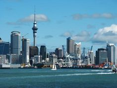 "Been here... ""View of Auckland and the Sky Tower from Devonport"" Auckland, New Zealand photo of ""Auckland's Skyline"" by IgoUgo travel photographer, UK Flower Girl."