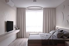 2 One-Bedroom Home Apartment Designs Under 60 Square Meters (With Floor Plans)