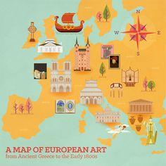 European Art History on Behance