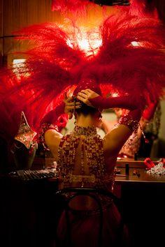 Notre création pour le spectacle féérie au Moulin Rouge
