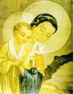 Oriental Madonna & Child