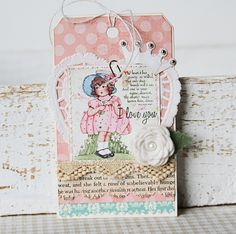 Paperie Sweetness: spring tag class...
