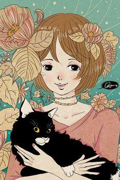 Orange's cat