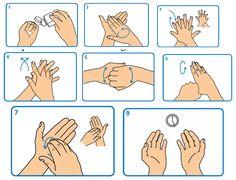 Resultado de imagen para lavado de manos niños animados