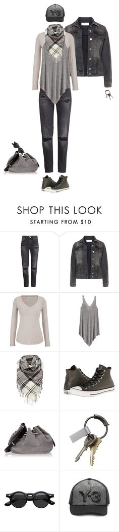 """I'm just going out"" by piplusc ❤ liked on Polyvore featuring H&M, Carmakoma, maurices, Barbour, Converse, Halston Heritage, CB2 and Y-3"