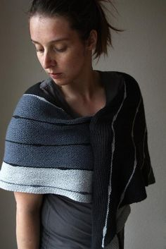 Ropedance Knitting pattern by Melanie Berg | Shawl Knitting Pattern | affiliate