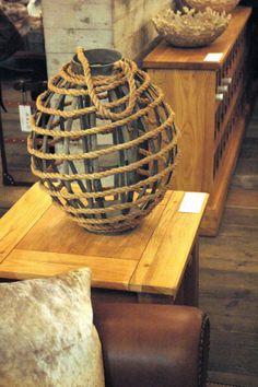 Diese originelle Lampe erinnert ein wenig an die See. #home #homestory #furniture #interior #immcologne #colours #decoration