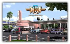 The Revival of The American Diner  Join DaddyO Diner in a Celebration of Diners, Drive-Ins, and the Burger's that Built em'    The American Diner was an idea born at the beginning of the last century and nurtured through the 20s, 30s and 40s, until reaching its popular pinnacle in the 1950s. The late 1930s Art Deco design is the best of the old fused with the best of the new. DaddyO is a time machine. A Blast from the past that will continue the heritage of those fun and memorable eras. American Diner, Art Deco Design, Diners, 1930s, How To Memorize Things, Celebration, The Past, Old Things, Join