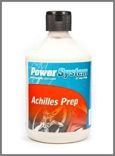 Achilles PREP - Detallatucoche    Achilles PREP es un limpiador de pintura, se puede utilizar a mano ó con pulidora ( a baja velocidad ).  En esencia se trata de un excelente producto imprescindible para despues de la clay bar y antes de aplicar nuestra cera o sellante favorito.