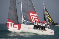 """#VOILE Tour d'Arabie EFG Sailing Arabia – The Tour : Sidney Gavignet l'emporte pour la deuxième année consécutive """"ça fait du bien d'avoir atteint l'objectif que nous nous étions fixés"""" >>> http://seasailsurf.com/seasailsurf/actu/9013-EFG-Sailing-Arabia-The-Tour-Sidney-Gavignet-l?"""