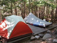 Long Trail - Tenting