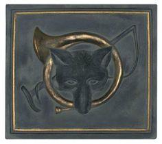 "Fox And Horn Plaque, 14.5""H x 16""W, CHARCOAL GOLD by Home Decorators Collection,  $49http://www.amazon.com/dp/B0079JI1QU/ref=cm_sw_r_pi_dp_.6xiqb03SX9AJ"