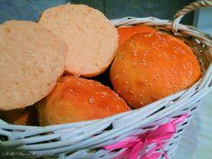 Bułeczki do Hamburgerów, Burgerów - Przepis - Słodka Strona Hamburger, Bread, Food, Brot, Essen, Baking, Burgers, Meals, Breads