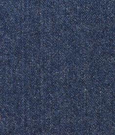 Washed Navy Blue Upholstery Denim Fabric - $16.15 | onlinefabricstore.net