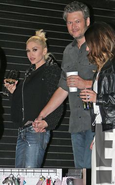 Blake Shelton and Gwen Stefani went public with their relationship on Wednesday, Nov. and attended a CMAs afterparty together — see the pic Blake Shelton Gwen Stefani, Blake Shelton And Gwen, Gwen And Blake, Gwen Stefani And Blake, Gwen Stefani Style, Celebrity Couples, Celebrity Gossip, Celebrity Crush, Celebrity News