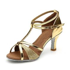 Jfkstore Womens Latin Salsa Tango Ballroom Dance Shoes *** To view further for this item, visit the image link. (This is an Amazon affiliate link)