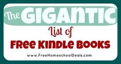 The Gigantic List of Free Kindle Books!! by teri-71