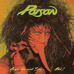 Music Bret Michaels Autographed Signed Poison Open Up And Say Ahh Bas Coa Record Album Big Clearance Sale Autographs-original