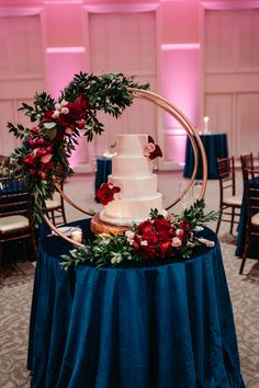 Jewel tone wedding reception at Furman University by B & R Events Navy And Burgundy Wedding, Maroon Wedding, Dream Wedding, Wedding Day, Wedding Events, Wedding Reception, Weddings, Wedding Centerpieces, Wedding Cake Table Decorations
