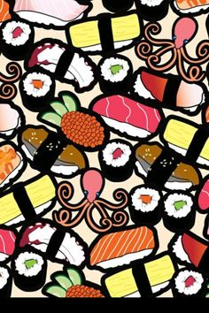 Sushi Wallpaper My Current One
