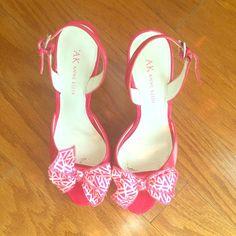 Anne Klein Hot Pink Heels