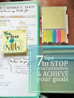 Just Because Studio: 7 tips to beat procrastination and achieve your goals