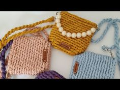 Handmade Bags, Crochet Bikini, Straw Bag, Crochet Bags, Handbags, Embroidery, Purses, Craft, Mesh