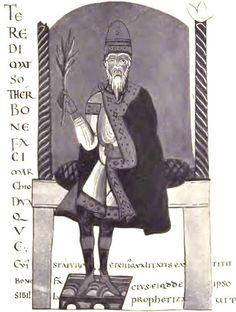 Conti di Panico: Bonifacio, padre de Matilde di Canossa, nieto de W...