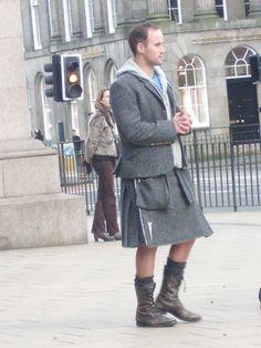 modern kilt in Edinburgh More