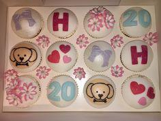 20th birthday cupcake box