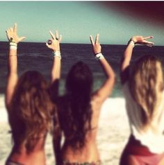 Cannot wait for summer with My amigas! None of us will be pregnant! Yay