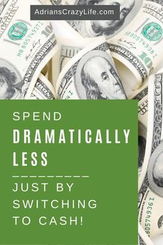 You'll spend dramatically LESS if you switch from plastic to all cash. It makes you so much more aware. Money Saving Meals, Best Money Saving Tips, Money Savers, Managing Your Money, Save Your Money, Parenting Teens, Parenting Hacks, Debt Snowball Spreadsheet, Budget Envelopes