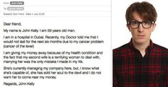 British Guy's Email Exchange With Internet Scammer Escalates Hilariously