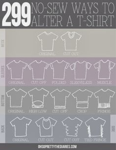 The Style Encyclopedia: Diy ~ Cut yout T Shirts
