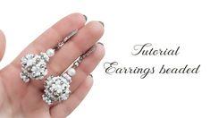 #МК - Объемные серьги из бисера и бусин | #Tutorial - Surround earrings ...