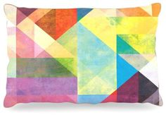 Kess InHouse Mareike Boehmer Color Blocking II Rainbow Abstract Dog Bed 30 by 40Inch * You can get additional details at the image link.