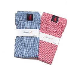 Johnnie-O gingham boxers.