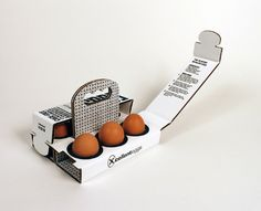 6 Brown Eggs (Concept) on Packaging of the World - Creative Package Design Gallery