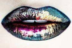 Ro&Ro Beauty Blog: Oil Slick Lips