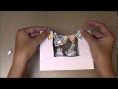 YNS Center Platform Card - Part 2 - video by Maureen Wong for Your Next Stamp #yournextstamp