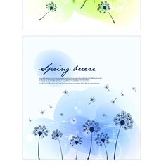 2 Summer Breeze Floral Abstract Backgrounds - http://www.welovesolo.com/2-summer-breeze-floral-abstract-backgrounds/