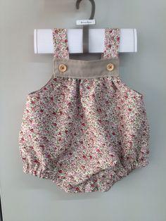 """""""Ranita"""" de bebé. Hecha con patrón de Oh mother mine D.I.Y Handmade by @Martexu"""