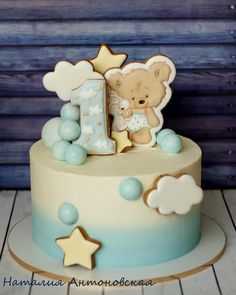 Baby shower boy food desserts sugar cookies 36 ideas for 2019 Torta Baby Shower, Baby Shower Cakes For Boys, Baby Boy Cakes, Baby Shower Cookies, Girl Cakes, Toddler Birthday Cakes, First Birthday Cakes, Cute Cakes, Celebration Cakes