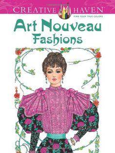 Creative Haven Art Nouveau Fashions Coloring Book (Creative Haven Coloring Books) by Ming-Ju Sun,http://www.amazon.com/dp/0486492117/ref=cm_sw_r_pi_dp_gN.zsb02731ZVF53
