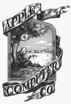 1st apple logo