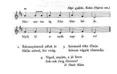 Adventi h�rn�k friss feny� �g Sheet Music, Spring, Music Sheets