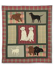 Lovely Labrador quilt from orvis